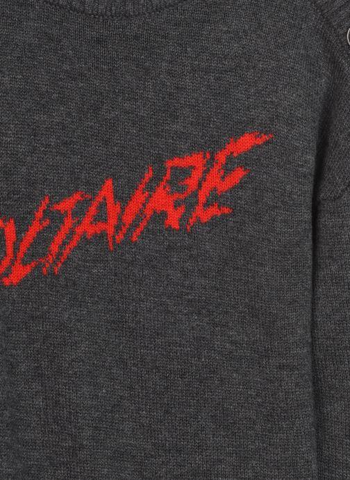 Vêtements Zadig & Voltaire X12129 Gris vue face