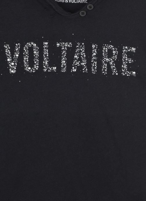 Vêtements Zadig & Voltaire X15241 Noir vue face