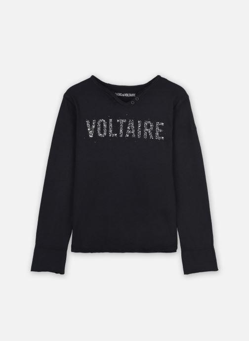 Vêtements Zadig & Voltaire X15241 Noir vue détail/paire