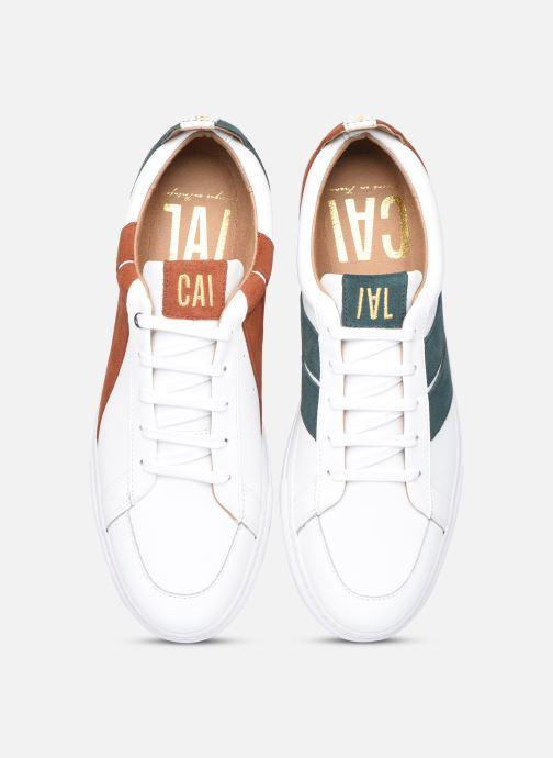Baskets Caval Korben&Leeloo H Blanc vue portées chaussures