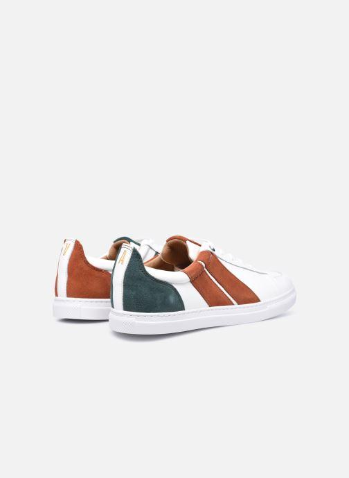 Sneakers Caval Korben&Leeloo H Wit achterkant