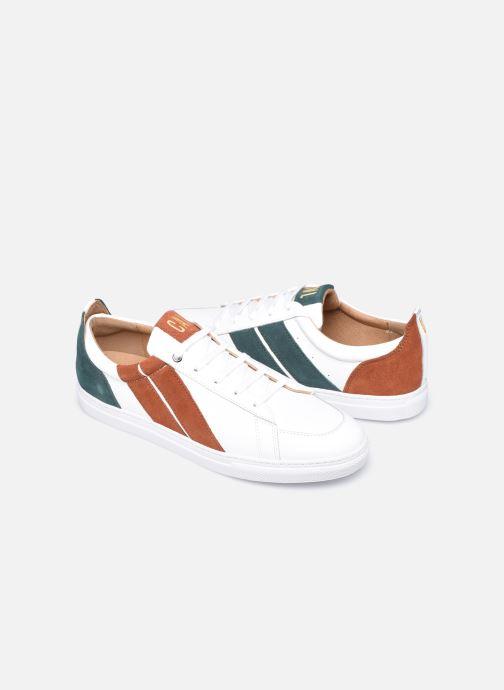 Sneakers Caval Korben&Leeloo H Wit detail