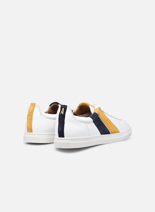 Sneakers Caval Korben&Leeloo H Hvid se bagfra