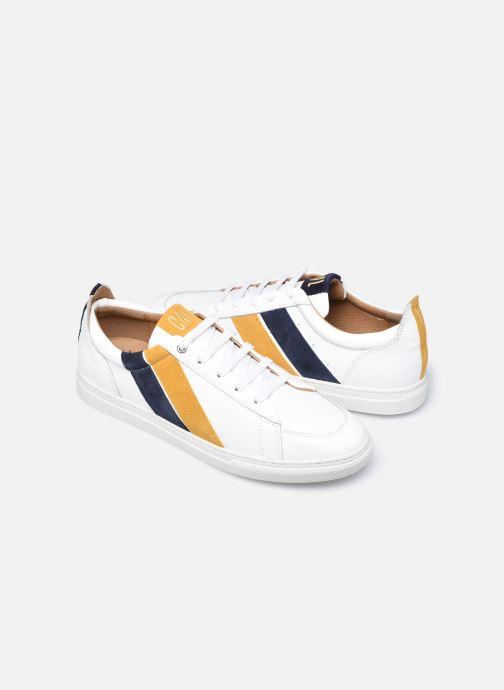 Sneakers Caval Korben&Leeloo H Hvid detaljeret billede af skoene