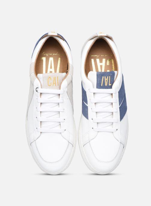Sneaker Caval Korben&Leeloo F weiß schuhe getragen