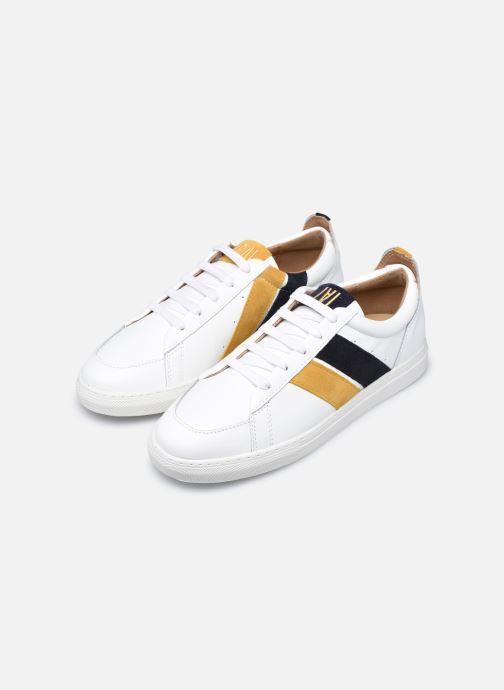 Sneaker Caval Korben&Leeloo F weiß ansicht von links