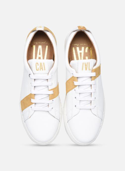 Sneaker Caval Vincent&Mia F weiß schuhe getragen