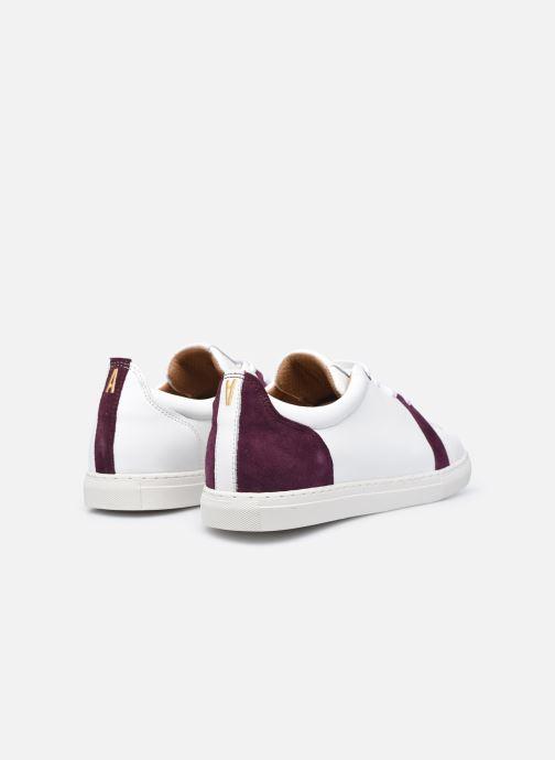 Sneaker Caval Vincent&Mia F weiß ansicht von hinten