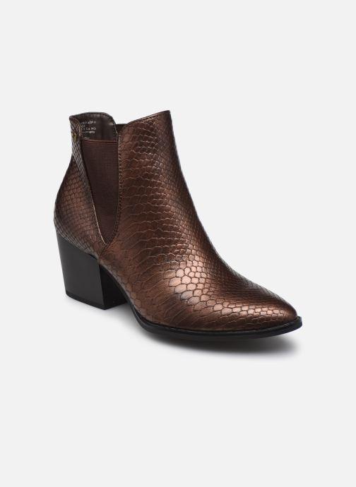Boots en enkellaarsjes S.Oliver Skali Bruin detail