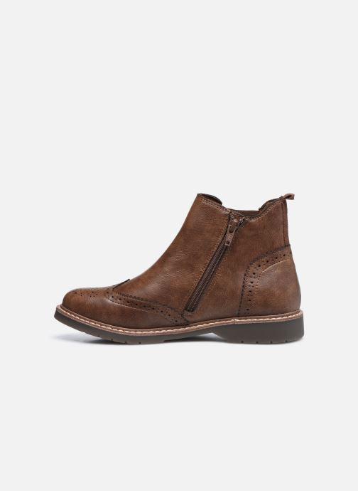 Bottines et boots S.Oliver Doroa Marron vue face