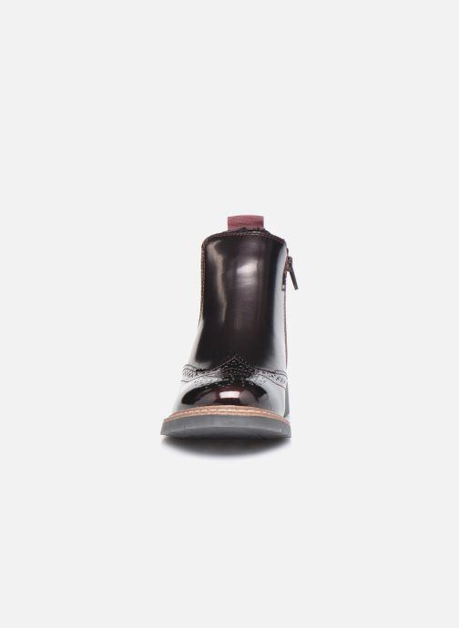 Bottines et boots S.Oliver Doroa Bordeaux vue portées chaussures