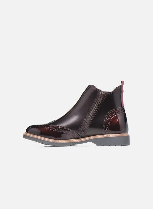 Bottines et boots S.Oliver Doroa Bordeaux vue face
