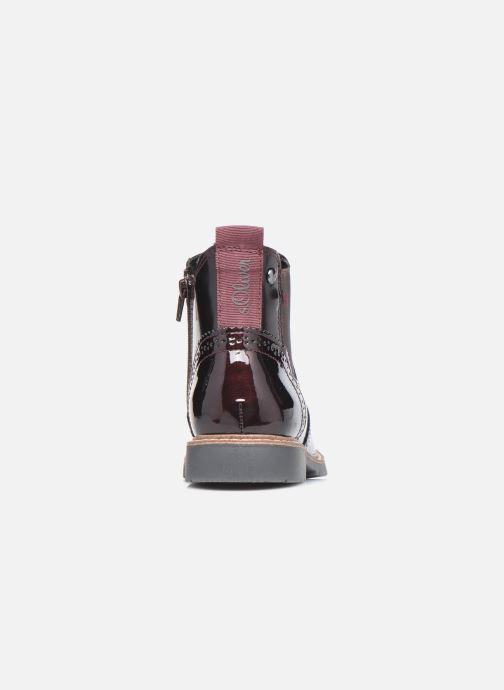 Bottines et boots S.Oliver Doroa Bordeaux vue droite