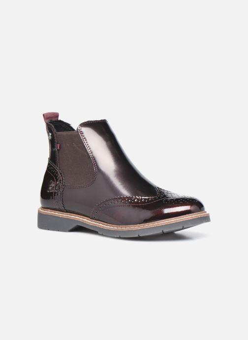 Bottines et boots S.Oliver Doroa Bordeaux vue détail/paire