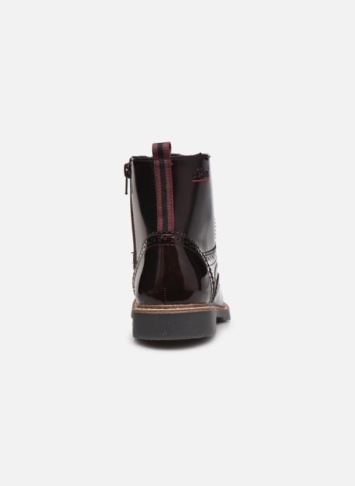 Stiefeletten & Boots S.Oliver Flagy weinrot ansicht von rechts