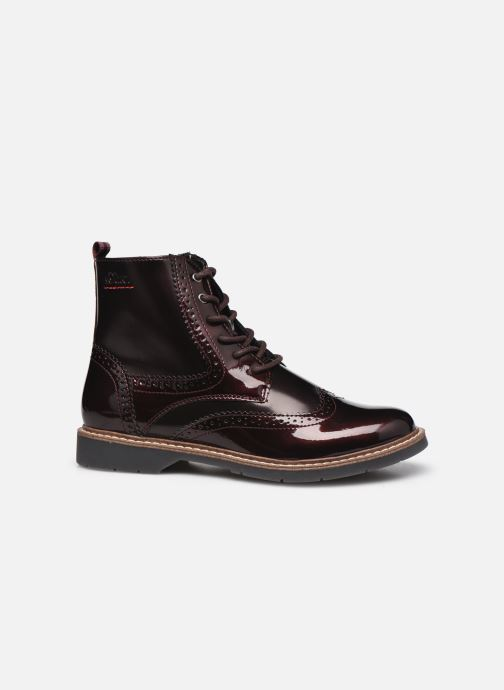 Stiefeletten & Boots S.Oliver Flagy weinrot ansicht von hinten