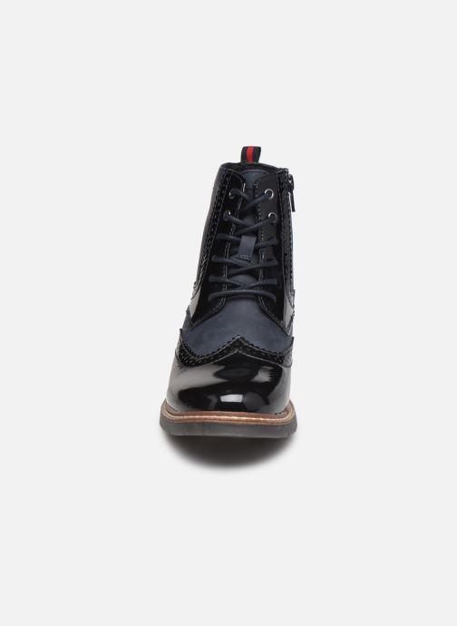 Bottines et boots S.Oliver Flagy Bleu vue portées chaussures