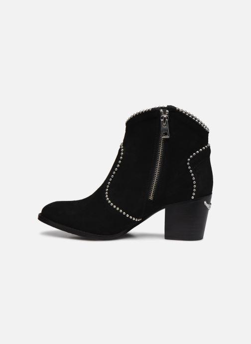 Bottines et boots Zadig & Voltaire Molly Suede + S Noir vue face