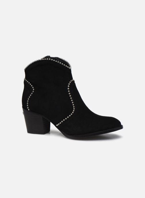 Bottines et boots Zadig & Voltaire Molly Suede + S Noir vue derrière