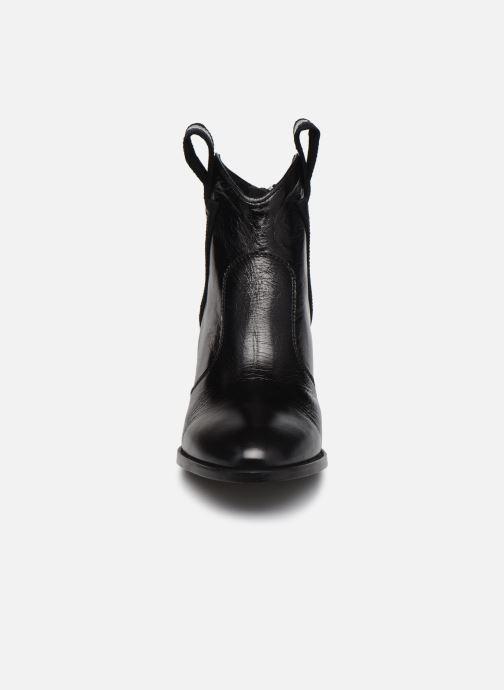 Bottines et boots Zadig & Voltaire Molly Flash Vin Noir vue portées chaussures