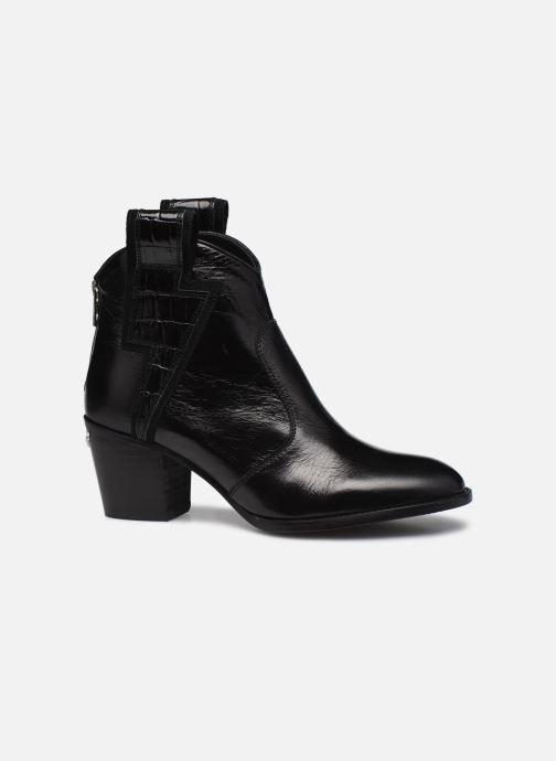 Bottines et boots Zadig & Voltaire Molly Flash Vin Noir vue derrière