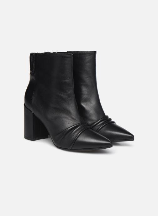 Bottines et boots Zadig & Voltaire Glimmer Elastic Noir vue 3/4