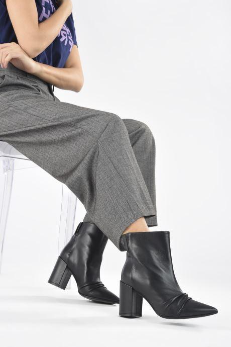 Bottines et boots Zadig & Voltaire Glimmer Elastic Noir vue bas / vue portée sac