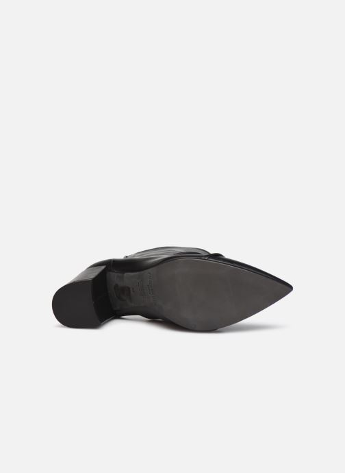 Bottines et boots Zadig & Voltaire Glimmer Elastic Noir vue haut