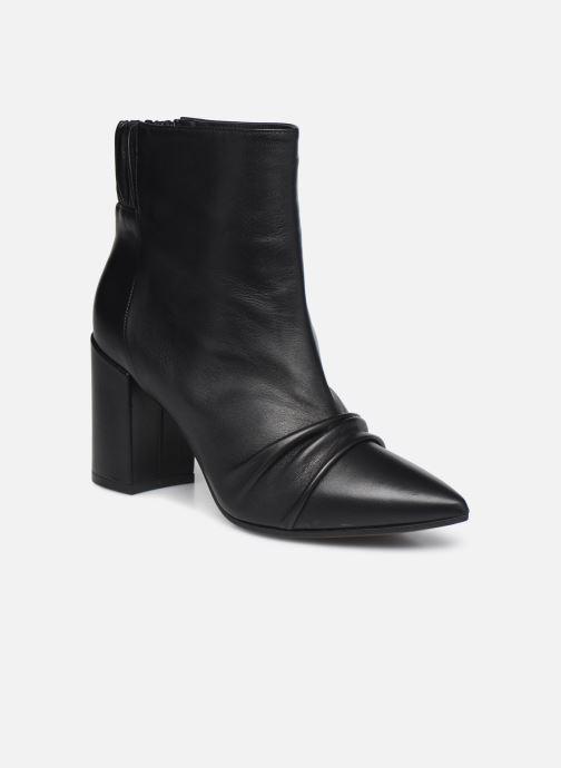Bottines et boots Zadig & Voltaire Glimmer Elastic Noir vue détail/paire