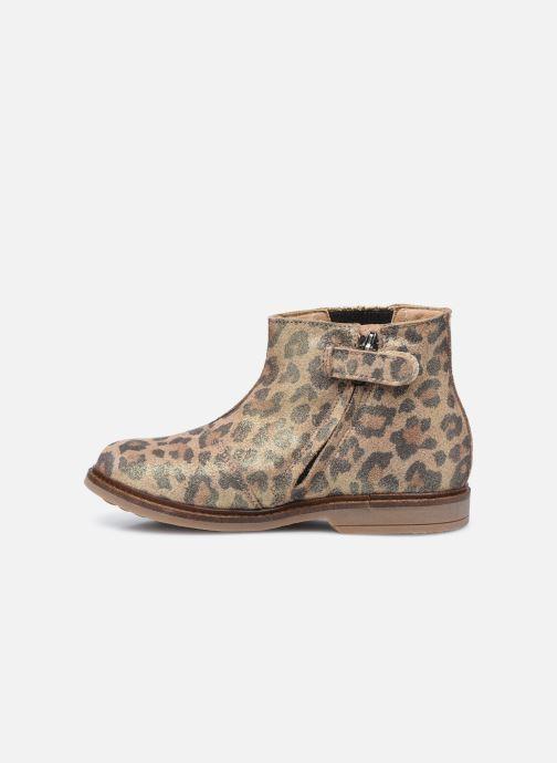 Bottines et boots Pom d Api Retro Stitch Boots Marron vue face