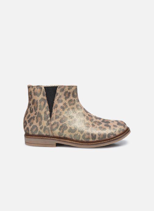 Bottines et boots Pom d Api Retro Stitch Boots Marron vue derrière