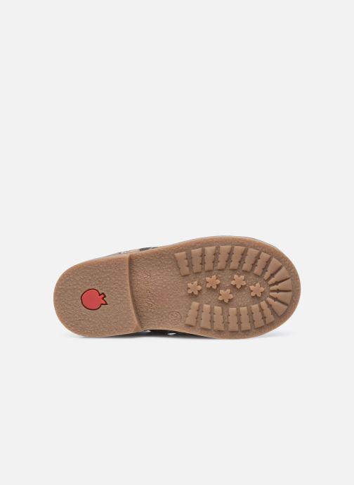 Bottines et boots Pom d Api Retro Stitch Boots Marron vue haut