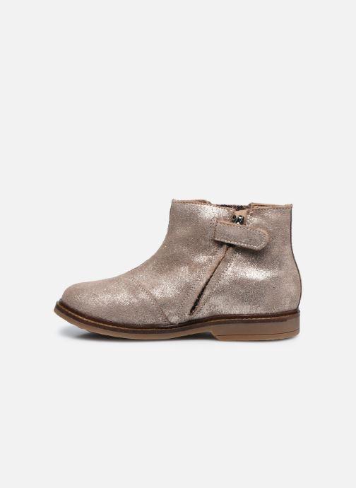 Bottines et boots Pom d Api Retro Stitch Boots Beige vue face