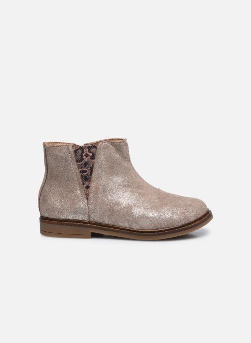Bottines et boots Pom d Api Retro Stitch Boots Beige vue derrière