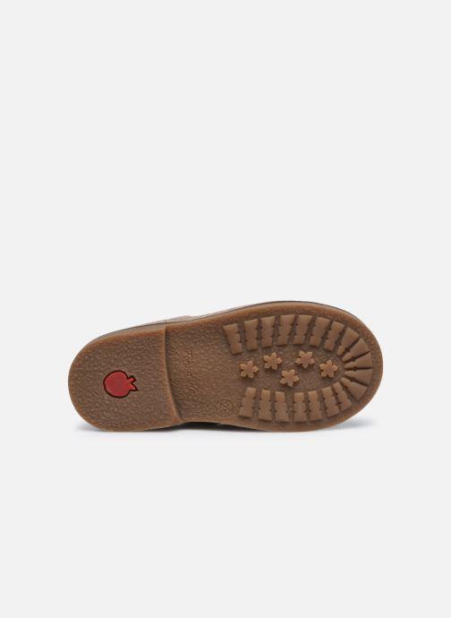 Bottines et boots Pom d Api Retro Stitch Boots Beige vue haut