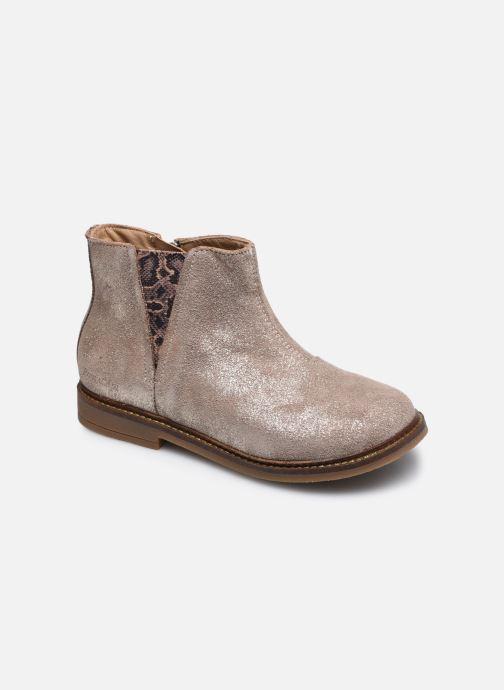Bottines et boots Pom d Api Retro Stitch Boots Beige vue détail/paire