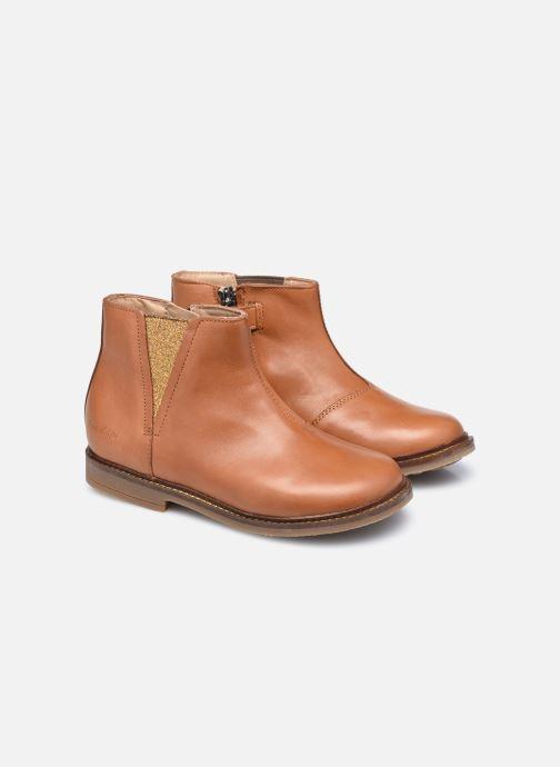 Stivaletti e tronchetti Pom d Api Retro Stitch Boots Marrone immagine 3/4