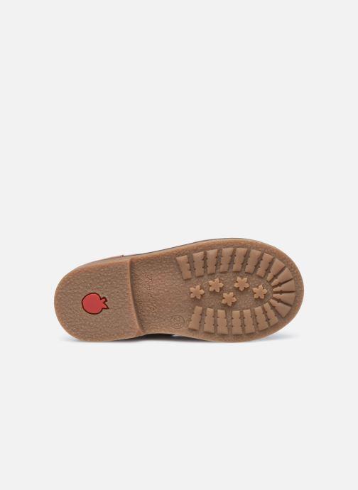 Stivaletti e tronchetti Pom d Api Retro Stitch Boots Marrone immagine dall'alto