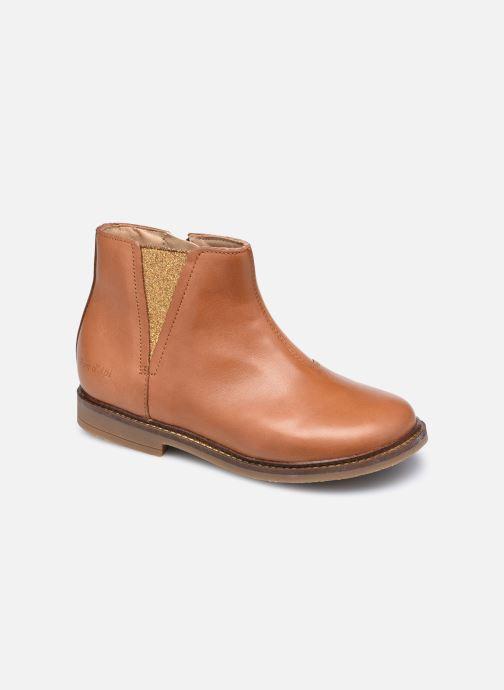 Boots en enkellaarsjes Pom d Api Retro Stitch Boots Bruin detail