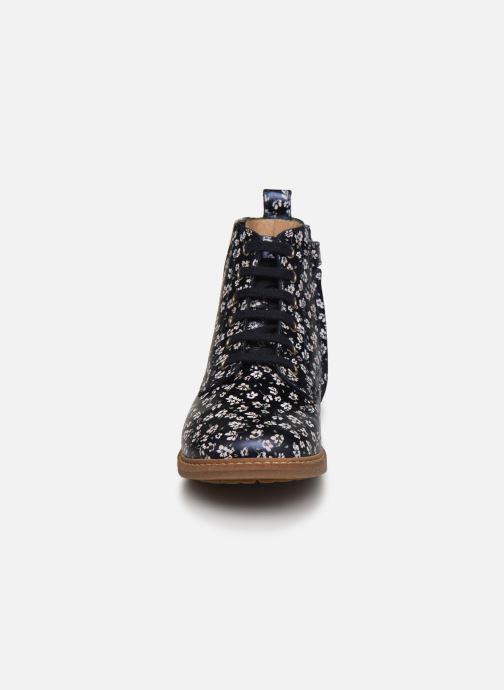 Bottines et boots Pom d Api Retro Hi Jod Bleu vue portées chaussures