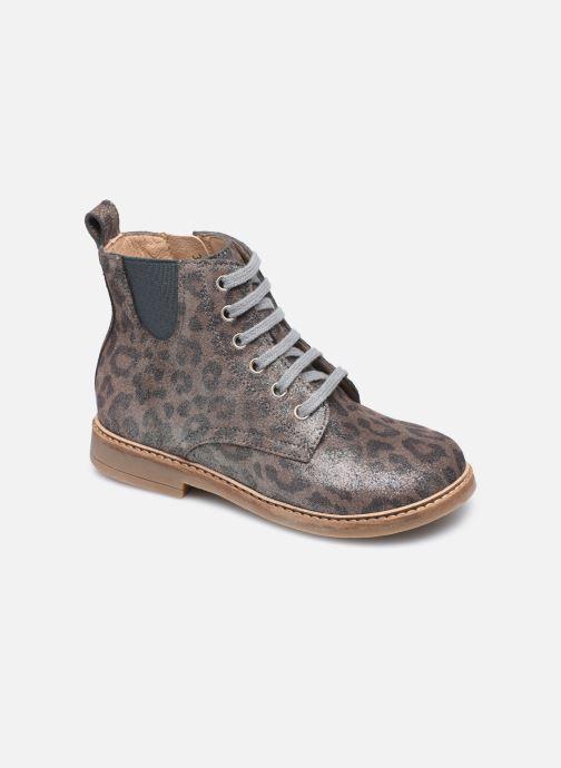 Bottines et boots Pom d Api Retro Hi Jod Argent vue détail/paire