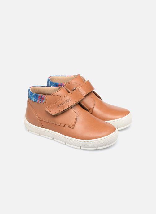 Sneakers Pom d Api Start Easy Pad Marrone immagine 3/4