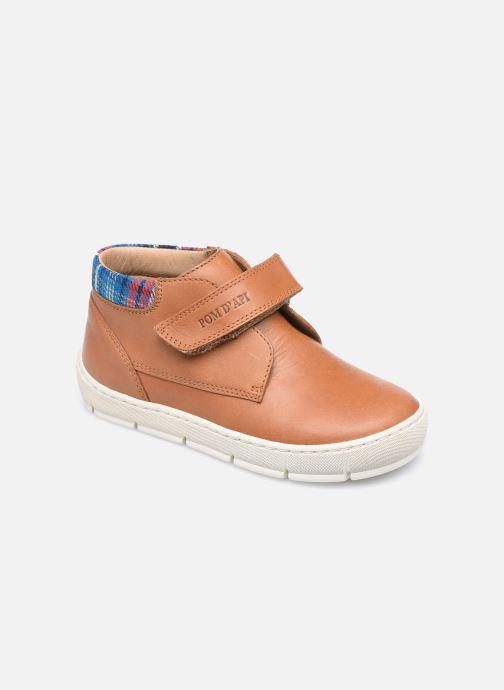 Sneakers Pom d Api Start Easy Pad Marrone vedi dettaglio/paio