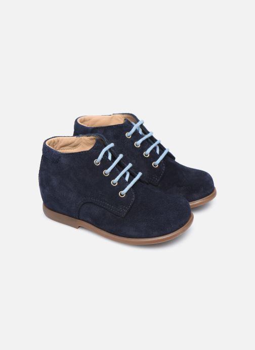 Boots en enkellaarsjes Pom d Api Nioupi Derby Blauw 3/4'