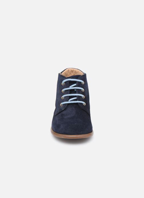 Boots en enkellaarsjes Pom d Api Nioupi Derby Blauw model