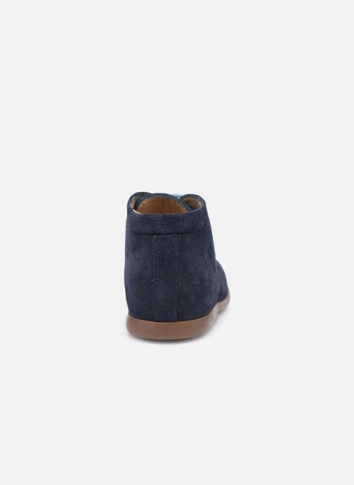 Boots en enkellaarsjes Pom d Api Nioupi Derby Blauw rechts