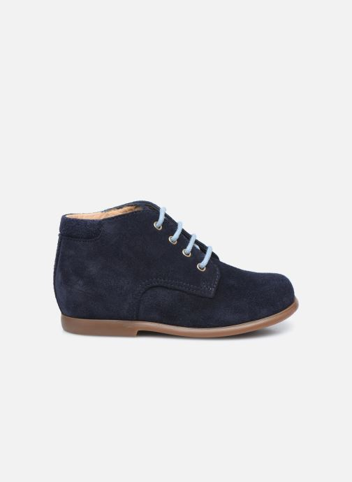 Boots en enkellaarsjes Pom d Api Nioupi Derby Blauw achterkant