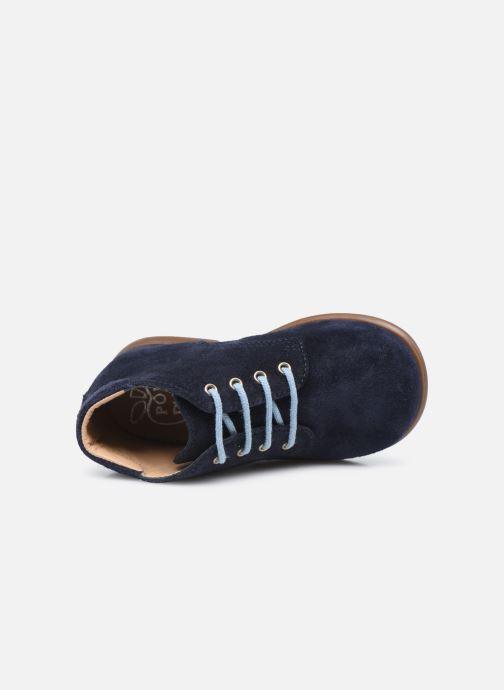 Boots en enkellaarsjes Pom d Api Nioupi Derby Blauw links