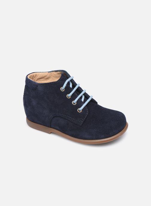 Boots en enkellaarsjes Pom d Api Nioupi Derby Blauw detail