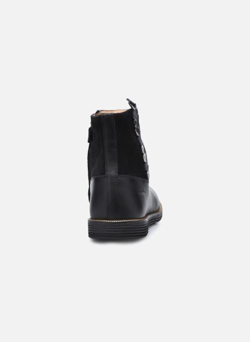 Bottines et boots Pom d Api Trip Rolls Ferns Noir vue droite